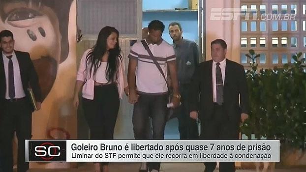 Após quase 7 anos preso, ex-goleiro Bruno é solto e já tem propostas, garante empresário