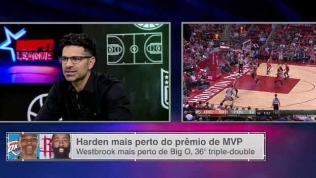 Paulo Antunes vê Harden com mais companheiros em Houston em relação a Westbrook em OKC