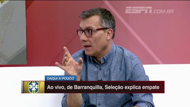 Calçade diferencia possíveis protagonismos de Neymar; Gian elogia a atuação do camisa 10 técnica e psicologicamente