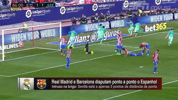 Briga pelo título no Espanhol tem Real com virada impressionante e Barça dependente de estrelas para vencer