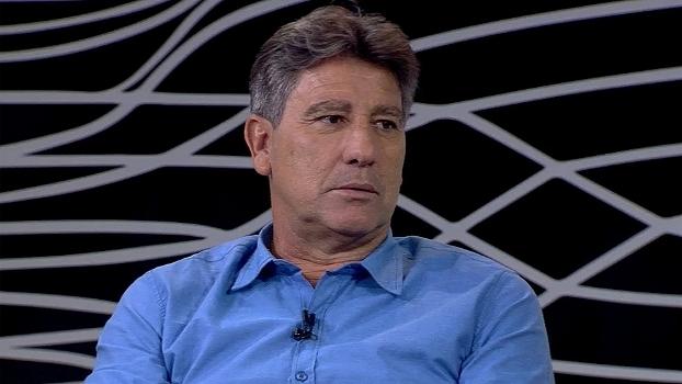 Renato Gaúcho afirma que jogou mais que Cristiano Ronaldo e explica por que