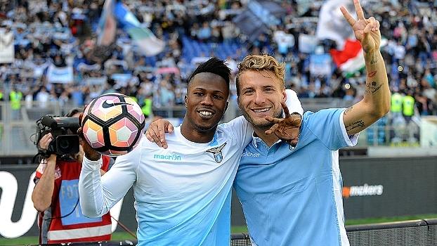 Com hat-trick de Keita e dois gols de Immobile, Lazio atropela Palermo em casa e segue no G4