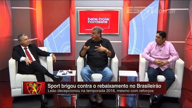 Presidente do Sport elege o perfil de jogadores que pretende contratar para a próxima temporada