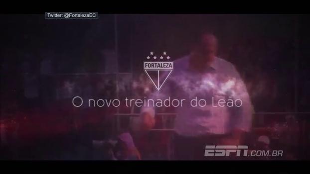 'O novo treinador do Leão': com Hells Bells, veja como Rogério Ceni foi anunciado pelo Fortaleza