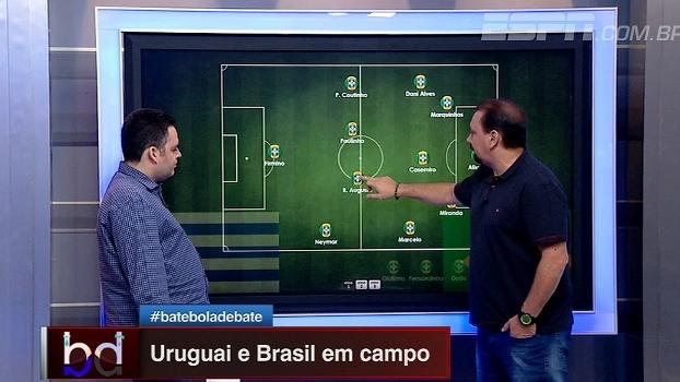 'Dupla BB' analisa escalações do confronto entre Brasil e Uruguai