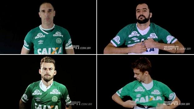 Clubes paulistas se juntam em vídeo e vestem a camisa da Chapecoense