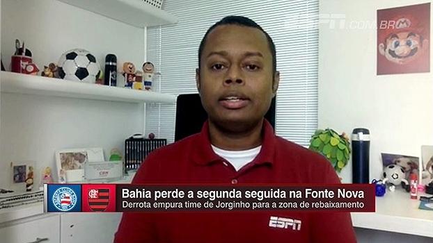 Falta de reposição e variação tática; Elton Serra elenca problemas do Bahia no Brasileiro
