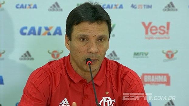 Zé Ricardo pede 'pés no chão' e alerta sobre jogo de volta do Fla na Vila