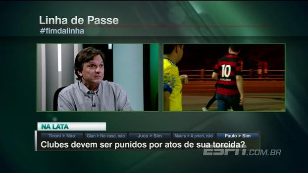 Mauro analisa invasão de torcida do Fla na final da Sul-Americana: 'Poder público está ausente, não tem a ver com futebol'
