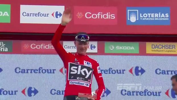 Froome vence 9ª etapa da Volta da Espanha e segue firme na liderança