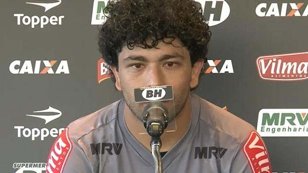 Luan promete trabalhar para voltar a ser titular do Atlético-MG