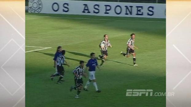Em 2004, Botafogo venceu Cruzeiro de Sorín com gol e assistência de Caio Ribeiro