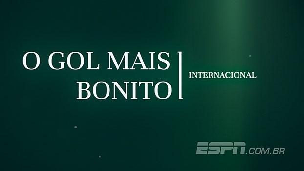 Veja os gols internacionais mais bonitos da semana