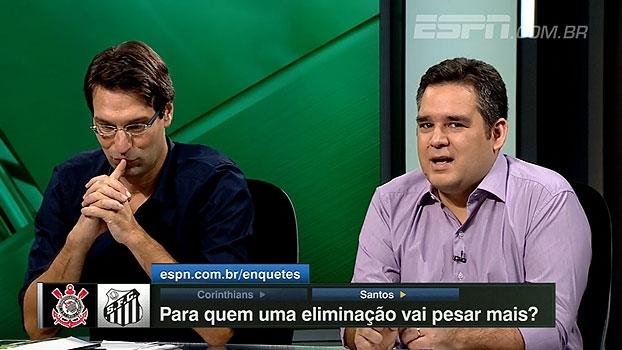 Quem perde mais? Bertozzi: 'Eliminação pode causar muita fumaça no Santos'