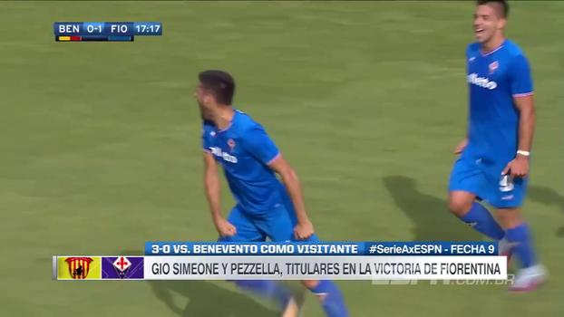 Fiorentina faz três fora de casa, e Benevento segue zerado no Italiano