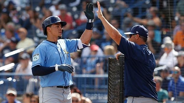 Tampa Bay Rays e New York Yankees empatam em jogo de pré-temporada da MLB