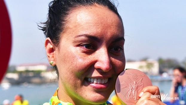 Você sabia? Poliana Okimoto foi a 1ª brasileira a conquistar uma medalha olímpica na natação