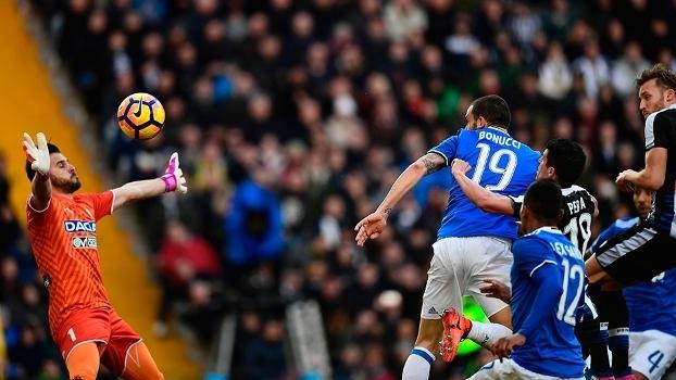Italiano: Gols de Udinese 1 x 1 Juventus