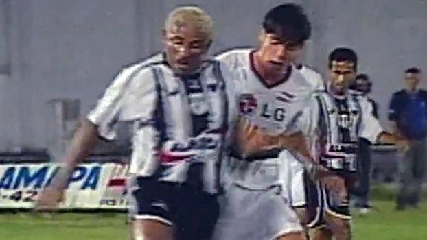 Val Pilar, o volante que anulou Kaká na Copa do Brasil de 2002; relembre