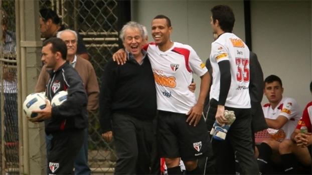 Em sua última declaração pública, Juvenal Juvêncio agradeceu Luis Fabiano por sua passagem pelo São Paulo