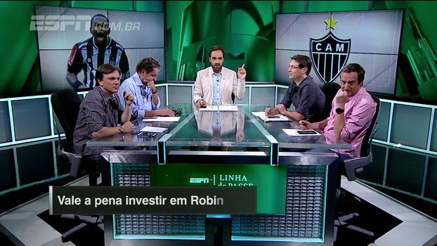 Vale a pena investir em Robinho? Veja a opinião dos comentaristas do Linha de Passe no 'Na Lata!'