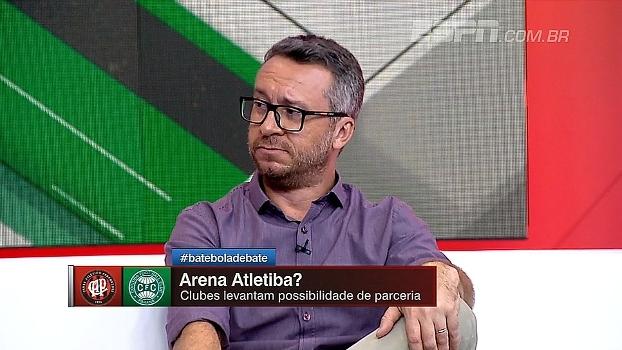 Arena Atletiba? Maurício Barros comenta proposta: 'A mim faz muito sentido'