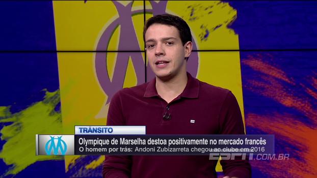 Em 2017, Olympique de Marselha gastou quase o mesmo que o PSG