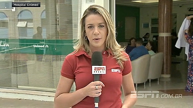 Gabi informa sobre chegada de Neto em Chapecó e estado de saúde