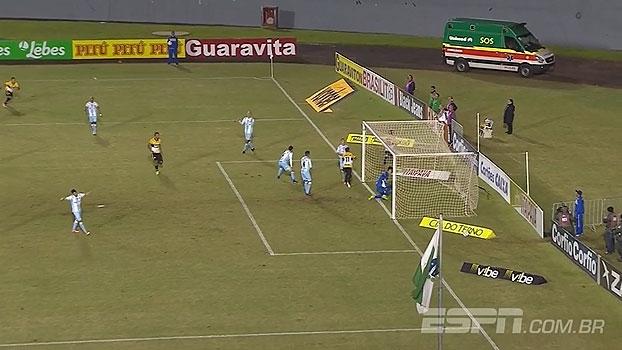 Série B: Gol de Londrina 0 x 1 Criciúma