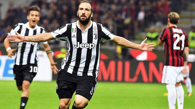 Italiano: Gols de Milan 0 x 2 Juventus