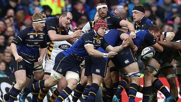 Leinster vence Wasps no Europeu de rugby e se classifica para a semifinal