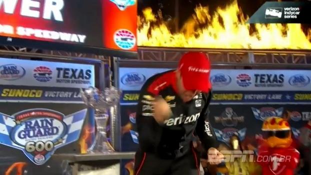 Em corrida caótica no Texas, Will Power vence prova da Indy