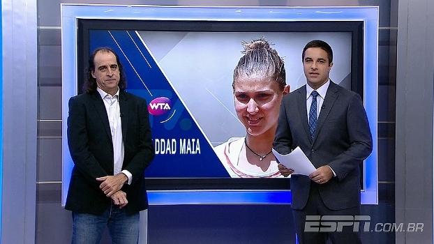 Meligeni elogia postura de Bia Haddad: 'Pode chegar ao Top 30 sem problemas'