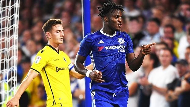 Copa da Liga Inglesa (2ª fase): Gols Chelsea 3 x 2 Bristol Rovers