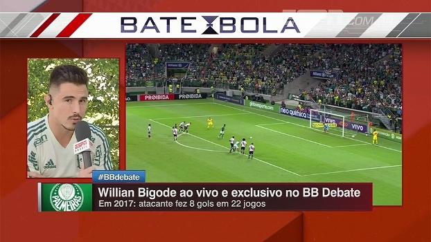 Willian Bigode diz que não se sente reserva no Palmeiras   Me sinto  importante e 3c629f7d8d997