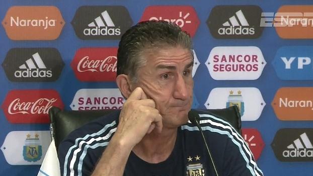 Bauza fala da disputa por vagas na América do Sul e comenta pressão em cima dos jogadores