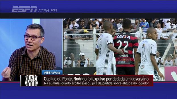 Calçade elogia 'sangue frio' de Tréllez em lance com Rodrigo: 'Que bom que tenha acontecido'
