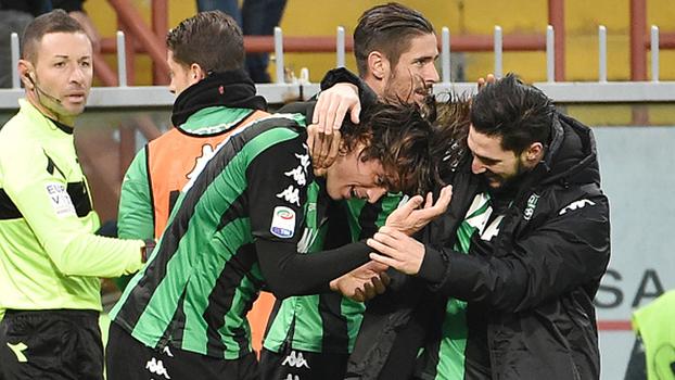 Com gol de Alessandro Matri, Sassuolo surpreende Sampdoria e respira na tabela do Italiano
