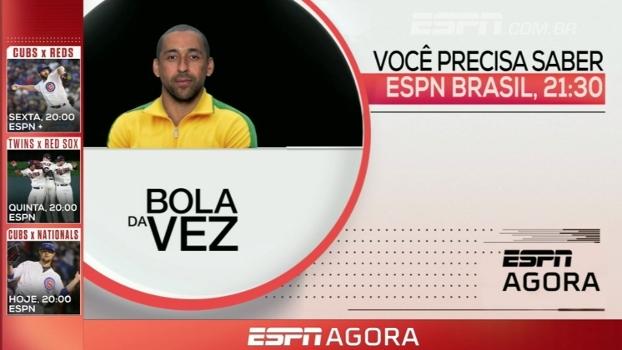 MLB e Bola da Vez com Serginho; veja a programação dos canais ESPN desta terça-feira