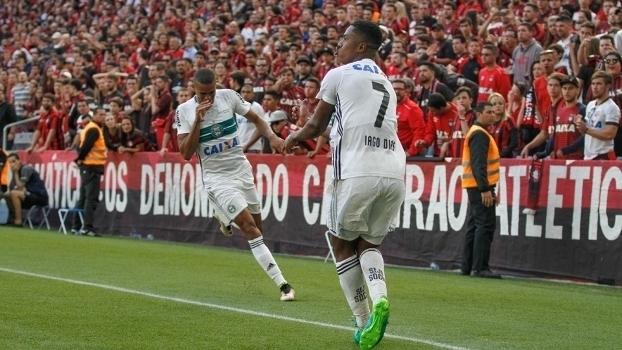 Paranaense: Gols de Atlético-PR 0 x 3 Coritiba