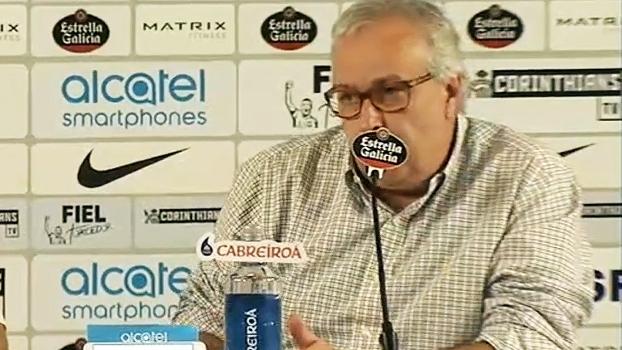 Roberto de Andrade responde executivo de futebol do São Paulo: 'Que melhore o time dele'