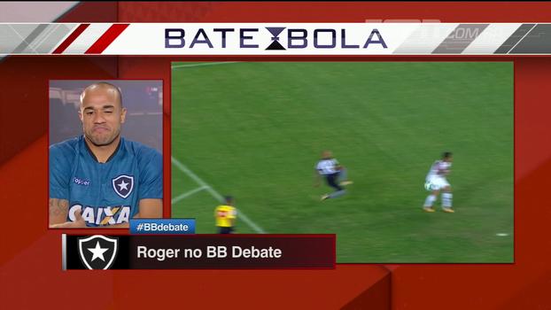 Roger projeta semifinal contra o Fla: 'Se o jogo fosse quarta que vem, nos colocaria como favorito'