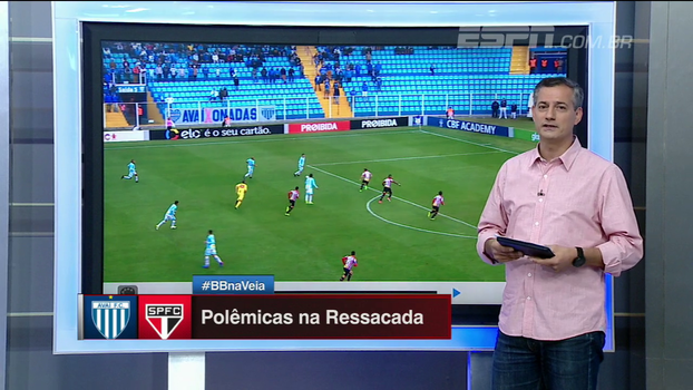 Foi ou não foi? Sálvio analisa pênaltis do empate entre Avaí e São Paulo