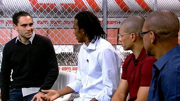 Roque Júnior e Djalminha comentam racismo na Europa: 'Quando fala que é jogador, muda completamente'