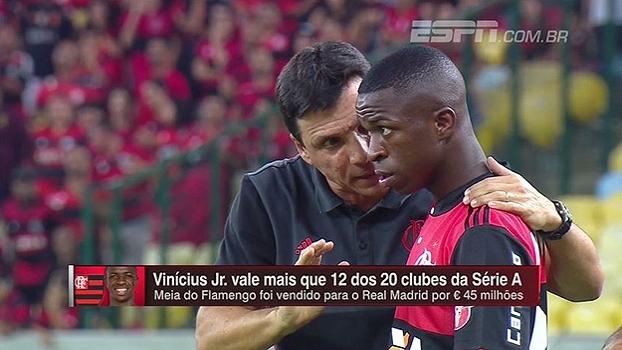 Hofman tenta explicar alto investimento do Real em Vinícius Jr: 'Disputa com Barça e clube ingleses'