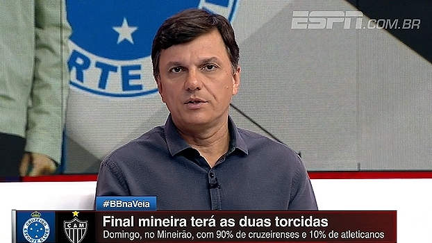 Mauro explica polêmica das torcidas na final do Mineiro: 'Polícia só permite Independência com torcida única'