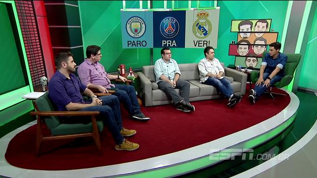 Barça, Real, PSG, City ou Napoli? Nicola, Bertozzi e Unzelte escolhem quais times eles param para ver
