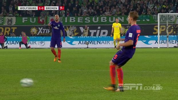 Werder Bremen busca empate contra o Wolfsburg, mas segue sem vencer na Bundesliga