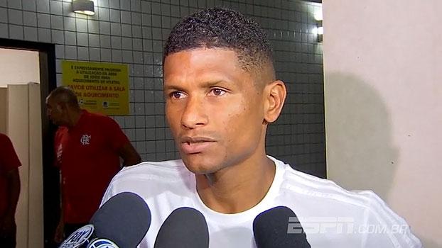 Márcio Araújo responde ao carinho da torcida: 'É uma carreira inteira dando o meu melhor'