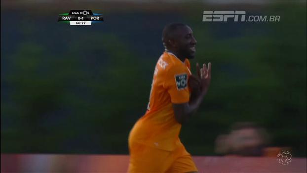 Veja os gols da vitória do Porto sobre o Rio Ave por 2 a 1